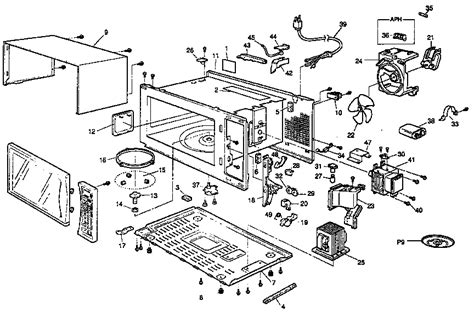 panasonic microwave parts engine diagram and wiring diagram