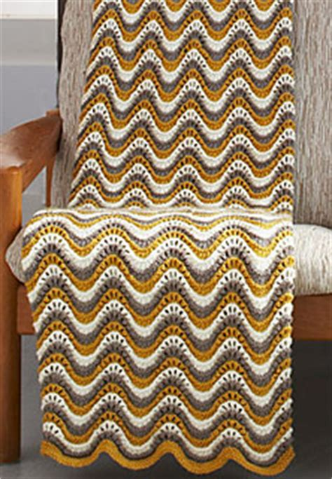 patons pattern library ravelry feather and fan blanket 169 knit pattern by patons