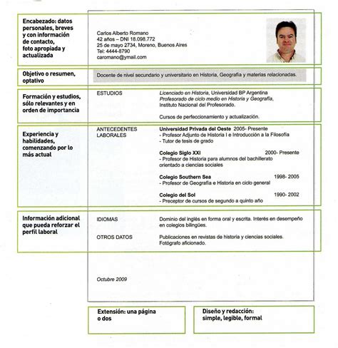 Modelo Curricular Marcela Lawler curriculum vitae habilidades curriculum vitae