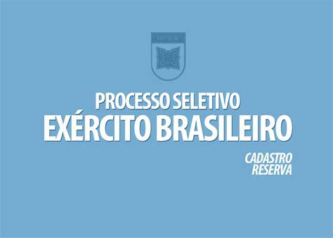 Processo Seletivo Exrcito 2016 Edital | processo seletivo ex 233 rcito brasileiro edital 003 2017