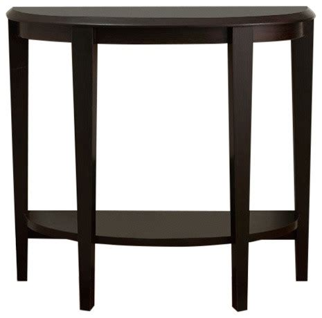 hall accent tables monarch specialties accent table 36 quot cappuccino hall