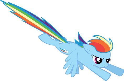 my little pony rainbow dash flying rainbow dash flying from a bird s eye perspective by