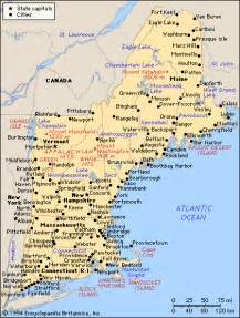 Where Is New England On The Map by Pics Photos New England Maps