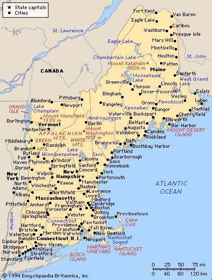printable maps new england maps united states map new england