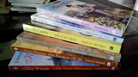 Harlequin Mengoyak Tabir jual novel komik buku romantis indonesia inggris bekas murah 10 burlington88