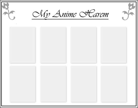 anime character profile template www imgkid com the