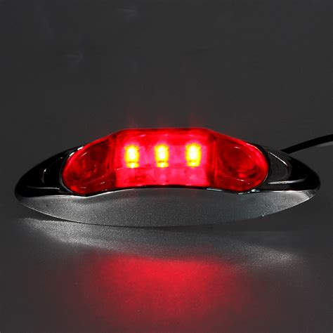 Waterproof 12v Led Side Marker Clearance Light For Truck 12v Lights