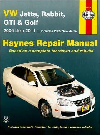 vehicle repair manual 2011 volkswagen golf on board diagnostic system vw jetta rabbit gti golf repair manual 2006 2011 haynes 96019