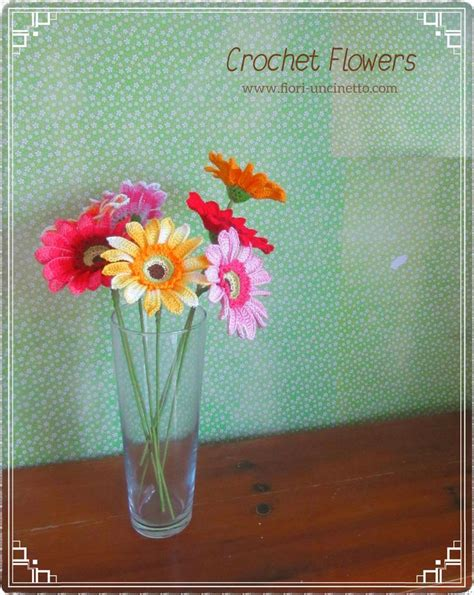 fiori crochet 67 best fiori all uncinetto crochet flowers images on