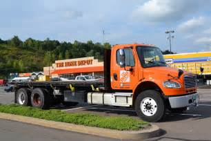 home depot estes freightliner m2 106 flatbed this