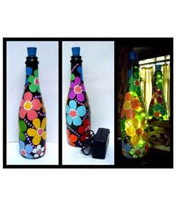 painting on glass bottles drawing pencil