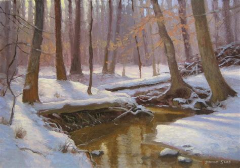 plein air paintings from paint snow hill featured in may 2014 painting snow en plein air jeremy sams art