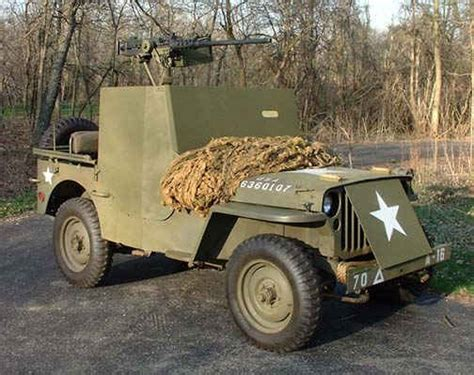 Armored Jeep 1945 Willys Mb