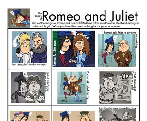 theme songs for romeo and juliet characters your students will have fun as they review the characters