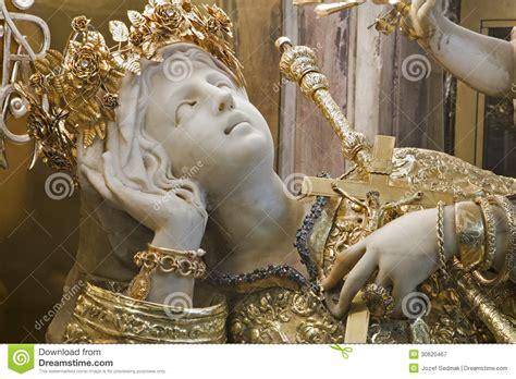 palermo statue  santa rosalia patron saint  palermo