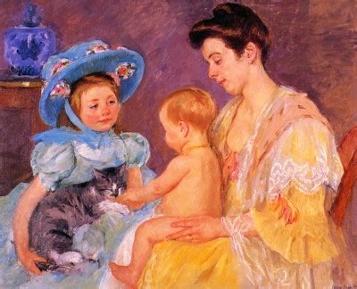 children s painting cat about cats children with a cat