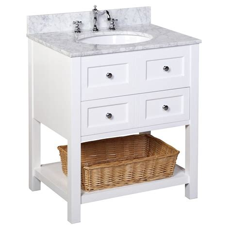 yorker   vanity carrarawhite kitchenbathcollection
