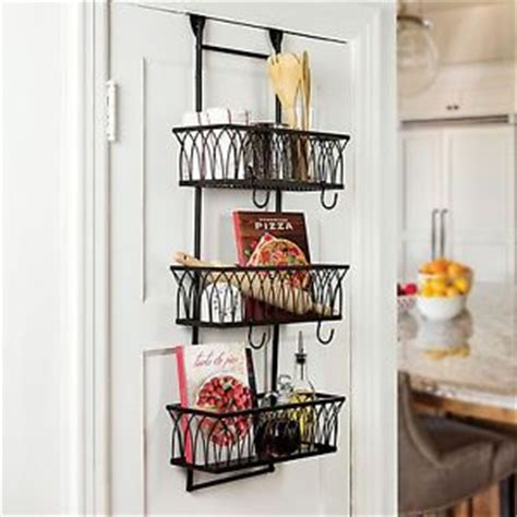 behind bathroom door storage behind over the door rack organizer kitchen bathroom 3