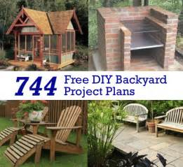 Backyard Building Plans shady backyard oasis 23 diy project ideas to upgrade your backyard