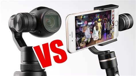 iphone gimbal dji osmo vs iphone 6s with gimbal 4k 30fps comparison helipal