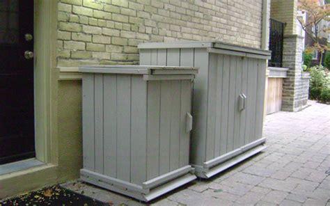 deara trash  storage shed diy