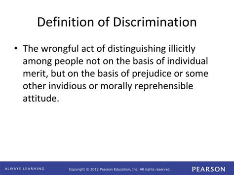 Discrimination In Employment On The Basis Of Criminal Record Ppt Business Ethics Concepts Cases Powerpoint