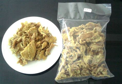 Keripik Jamur Kuping Enak kuliner khas tempat wisata dieng yang wajib dicoba