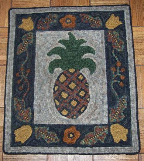 pineapple rug pineapple rug rug hooking