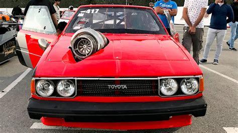 Toyota Corolla Turbo Turbo Toyota Corolla Kills It On The Dragstrip