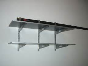 Wood Track Shelving How To Install A Rubbermaid Fast Track Rail System With