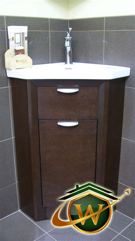 powder room corner cabinet bathroom remodeling services in the gaithersburg md area