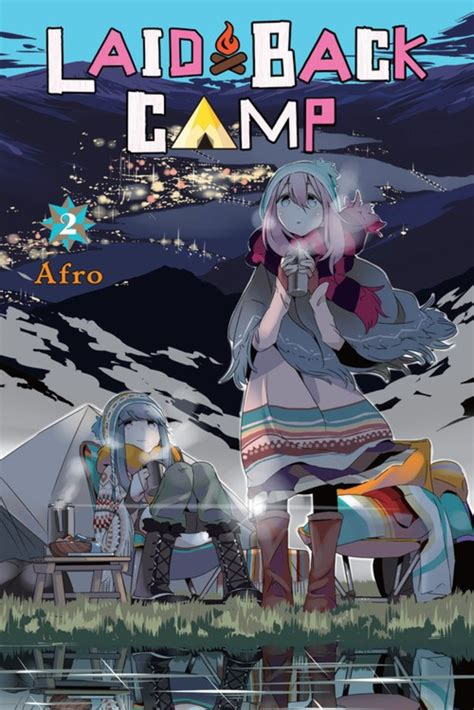 Laid Back Camp Graphic Novels