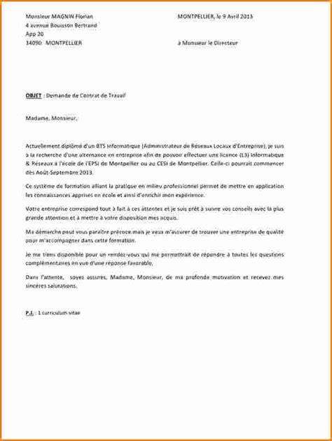 Lettre De Motivation De Formation 8 Lettre De Motivation Pour Formation En Alternance Exemple Lettres