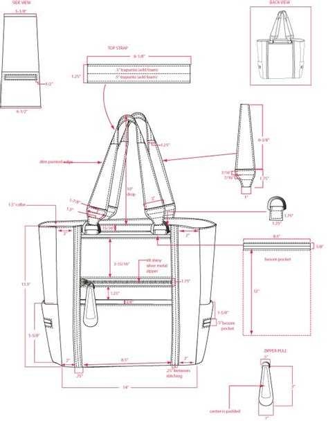 pattern drafting for handbags 425 best leatherworking patterns and templates images on