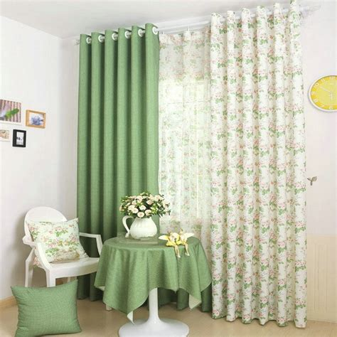 Blackout Kitchen Curtains Aliexpress Buy Rustic Pastoral Window Curtain For Kitchen Blackout Curtains Window Drape