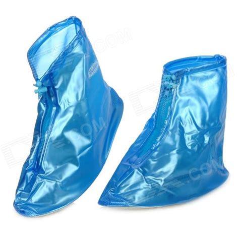boat shoes yes or no zipper waterproof rain boot shoe covers blue white