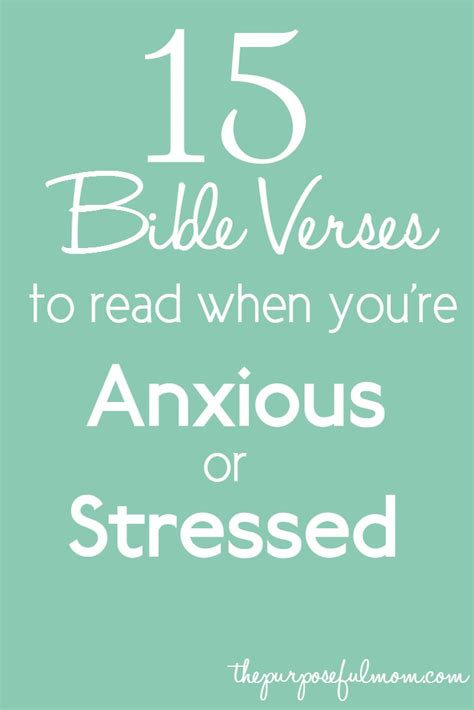 verses for 15 bible verses to read when you re anxious or stressed