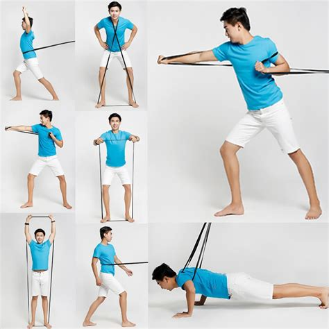 Pull Up Resistance Band Fitness fitness resistance bands exercise bands elastic strength rope pilates pull rope
