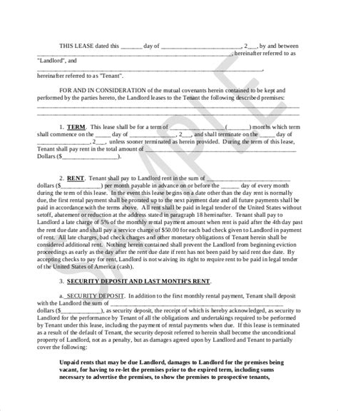 real estate option agreement template sle lease purchase agreement form 6 free documents