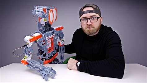 create your own robot build your own robot tech unboxing unboxtherapy dlo ent