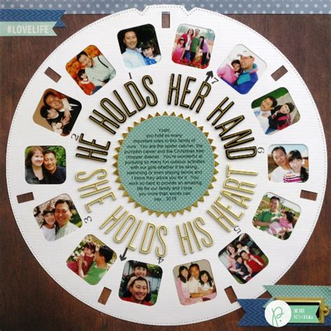 father s day scrapbook layout craft a viewmaster inspired layout for dads pebbles inc