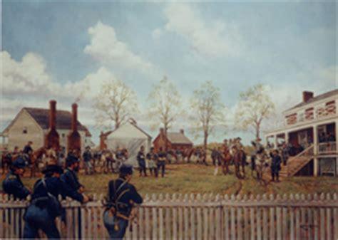 define appomattox court house the surrender meeting appomattox court house national historical park u s national
