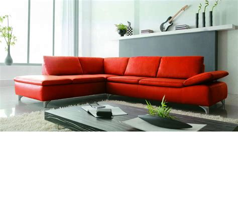 modern leather sectional dreamfurniture com 2915 modern bonded leather