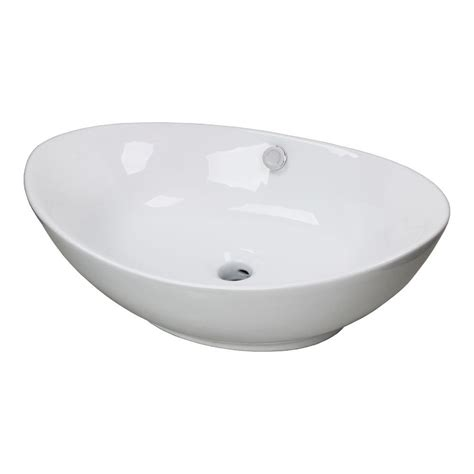 porcelain bathroom sinks new egg porcelain ceramic bathroom vessel vanity sink basin faucet with overflow jpg