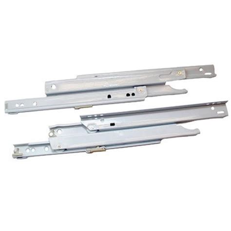 Bottom Mount Drawer Slides blum 430e series drawer slides extension bottom side mount 75lb white ebay