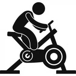 Spin bike wall sticker gym wall art this wall sticker is available in