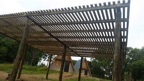 cocheras de madera prefabricadas pergolas aleros techos livianos barbacoas cocheras
