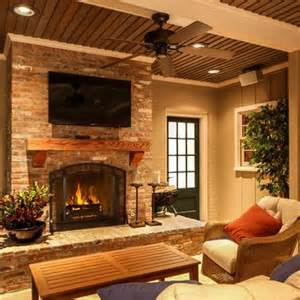 Decorating Ideas For Brick Fireplace Wall Brick Fireplace Design Ideas Pictures Remodel And Decor