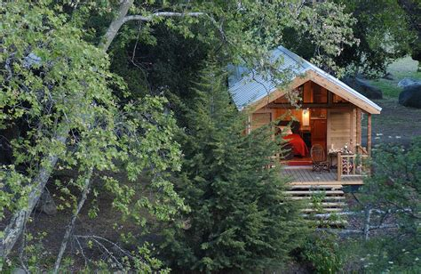 Cabin California by El Capitan Nature Lodging On The California Coast