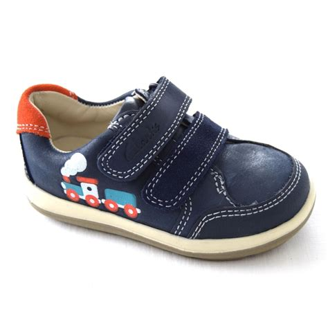clarks kid shoes clarks softly tom boys riptape shoes boys footwear